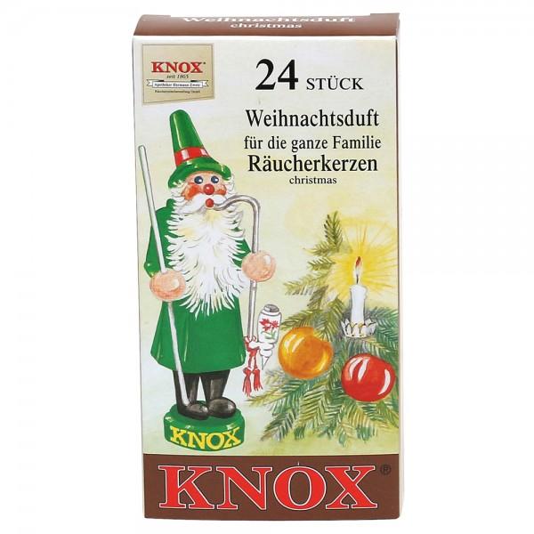 KNOX-Räucherkerzen Weihnachtsduft 6,5 x 2,2 x 12,5 cm