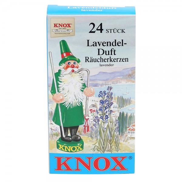 KNOX-Räucherkerzen Lavendel 6,5 x 2,2 x 12,5 cm