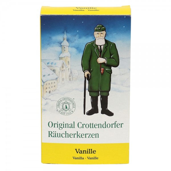 Crottendorfer-Räucherkerzen Vanilleduft 6 x 2 x 11 cm
