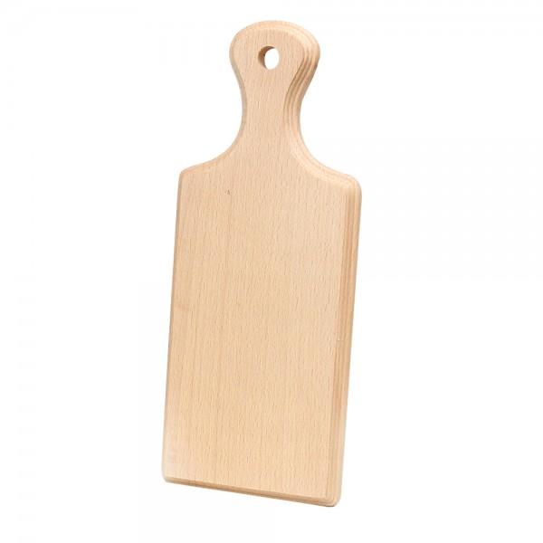 Holz Frühstücksbrett, natur 13,5 x 33 x 1,5 cm