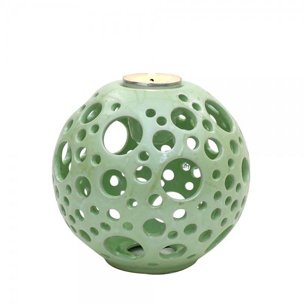Keramik Kerzenhalter Orion, SAVA 14 x 14 x 13,5 cm