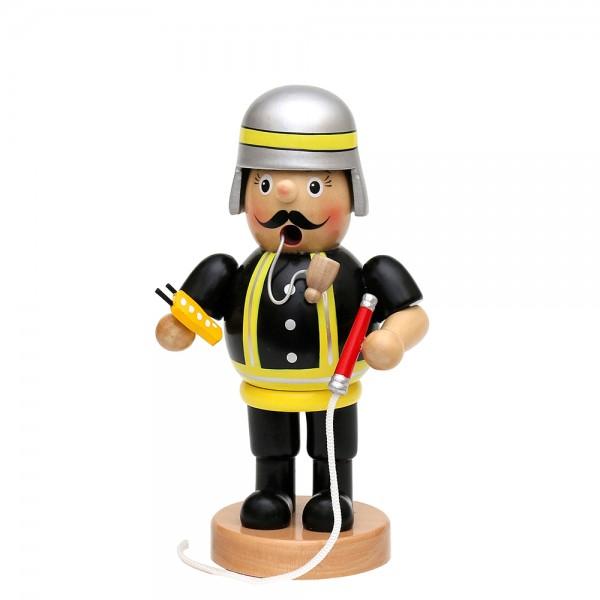 Holz Räuchermann Feuerwehrmann mittel 8 x 7 x 16 cm